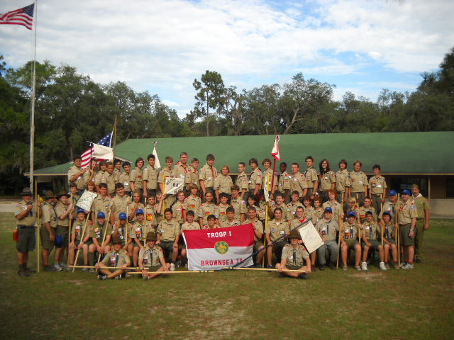 2010 Brownsea Troop